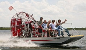 Spirit of the Swamp airboats