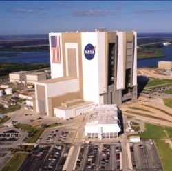NASA Vehicle Assembly Building Florida